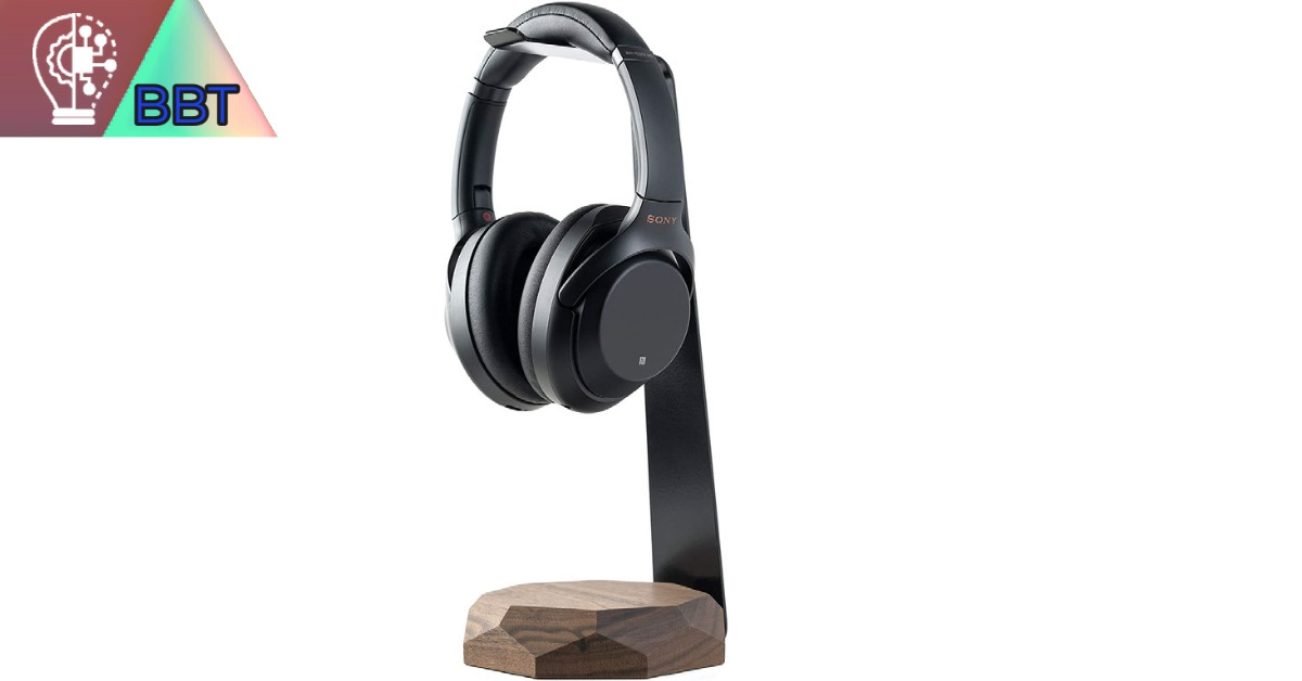 Oakywood Headphone Stand with Wireless Charger